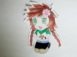 Chibi drawing by 8Bpencil