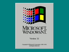 Windows History: Win 3.1 NT by cooling999