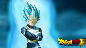 SSGSS Vegeta Arms Crossed DBSuper Wallpaper v2 by EymSmiley