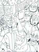 Voltron: LD - Happy Day, Shiro by furrychaos