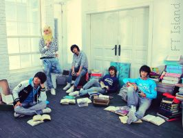 FT Island by angelovercloud