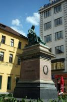 statue of Josef Jungmann by fairytale-gone-bad