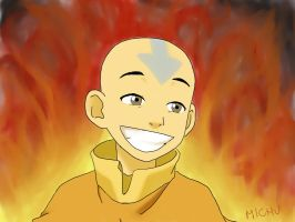 Aang by Micholek