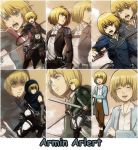 Armin Arlert Official Scans by attack-on-hyrule