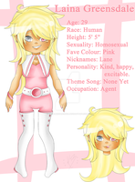 Official Reference: Laina Greensdale by DreamersArcadia