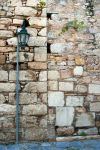 Old street lamp by photofenia