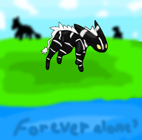 Forever Alone? by Zelda-Wolfy