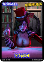 Moxxi 15th Card by spainaughty