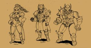 Knights of Akronia by SydeX