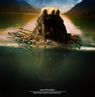 Lake of Desolation by Noxart-graphics