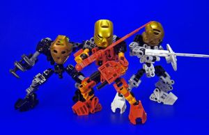 Bionicle - Toa by Lalam24