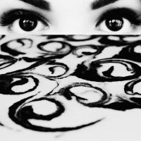 conflicting tides, whirlpool eyes by PsycheAnamnesis
