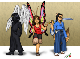 3 of Us - Colored by luvtuya