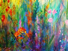 Meadow Flowers by ClaireBullFineArt