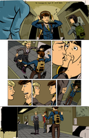 The Sundays #2 page 15 colors by ScottEwen
