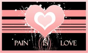 Pain Is Love 'Wallpaper Remix' by Tradgety