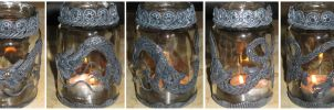 Chinese dragon storm lamp by Luna-cuteXD