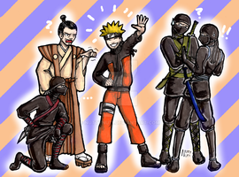 Clothes of Naruto Ninjas... by NuttyNuti