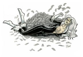 Heroes Con 2014: Black Cat by Shono