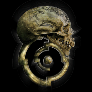 Gaming Skull Insignia by oldmanmoz