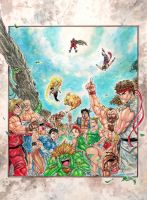 Super Street Fighter in BRAZIL by altmess