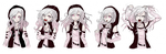 Dangan Ronpa OC Sprites (request) by Ramen11111