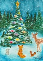 A Forest's Christmas by Jenrocks4ever
