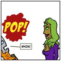 Super Haters no. 164, panel 1 by nickmarino