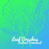 Leaf brushes by corelila