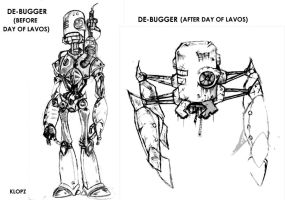 ChronoTrigger_Sketches Robots by Sooperkreep
