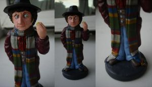 The Fourth Doctor by DalekJoy