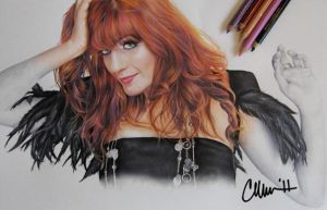 Florence Welch Drawing by Live4ArtInLA