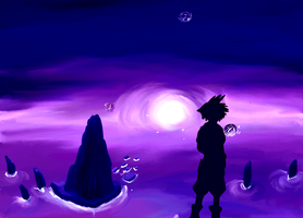 Sora at World's End by opal-gem