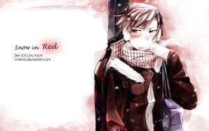 Snow in Red by chrena