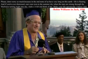 Robin Williams Graduation Speech in Jack, 1996 by ashzer101