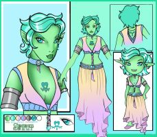 Spirit Character Sheet by lilena