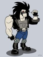 The 'Main Man': Lobo by Red-Flare