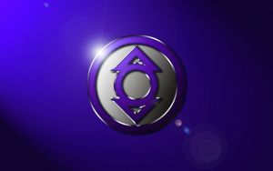 Indigo Tribe Logo Wallpaper by SUPERMAN3D