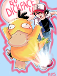 Drunk Psyduck by anoveltyspoon