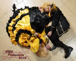Vocaloids of Evil Yin Yang by Dollie Dearest by DollieDearestCosplay