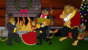 LKHFF Old Fashion Christmas by BennytheBeast
