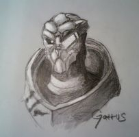 Garrus by Rok3OVERLORD