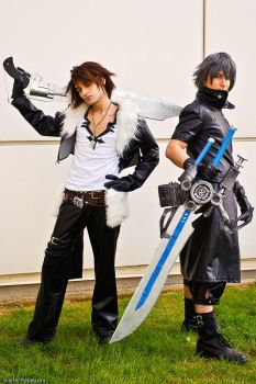 Squall and... Noctis xD by Eyes-0n-Me