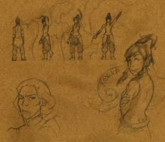 Sketches 22 - A Bit Of You-Know-Who by Azizla