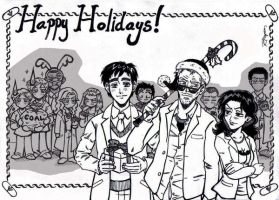 Happy Holidays by Anouk-Sparrow