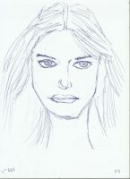 Woman Face Study N82 Bis by lv888