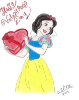 Snow White's Valentine by NY-Disney-fan1955