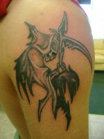 Grimm Reaper Tattoo by Toast79