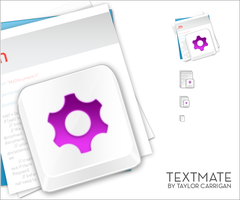 TextMate Icon by TaylorCarrigan