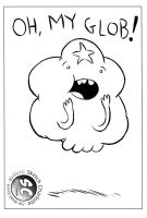 Library Sketch: Lumpy Space Princess by oh-the-humanatee